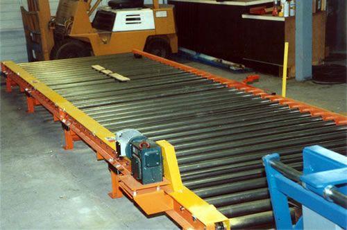 Pallet Handling Operation Conveyor System