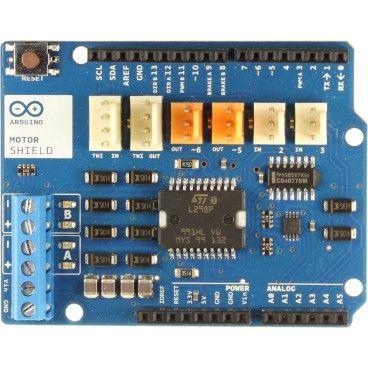 Arduino motor shield, 2 moteurs DC ou 1 moteur pas a pas