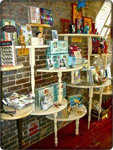 Table Display Ideas vintage_dresser_wedding_dessert_table_display_case Half Tables Used As Display Shelves