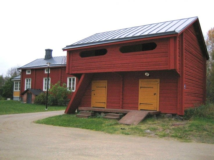 Vanhan Vaasan pappilan piharakennuksia. Kuva Hanna Kalliomaa 2010.