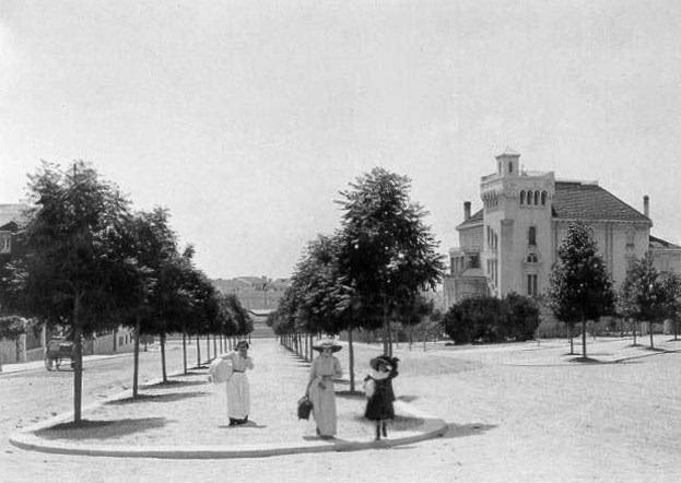 Fontes Pereira de Melo, 1907