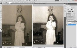 Photoshop tutorial how to restore and repair old photos in Photoshop for beginner's. #Photoshop #Tutorial #photography