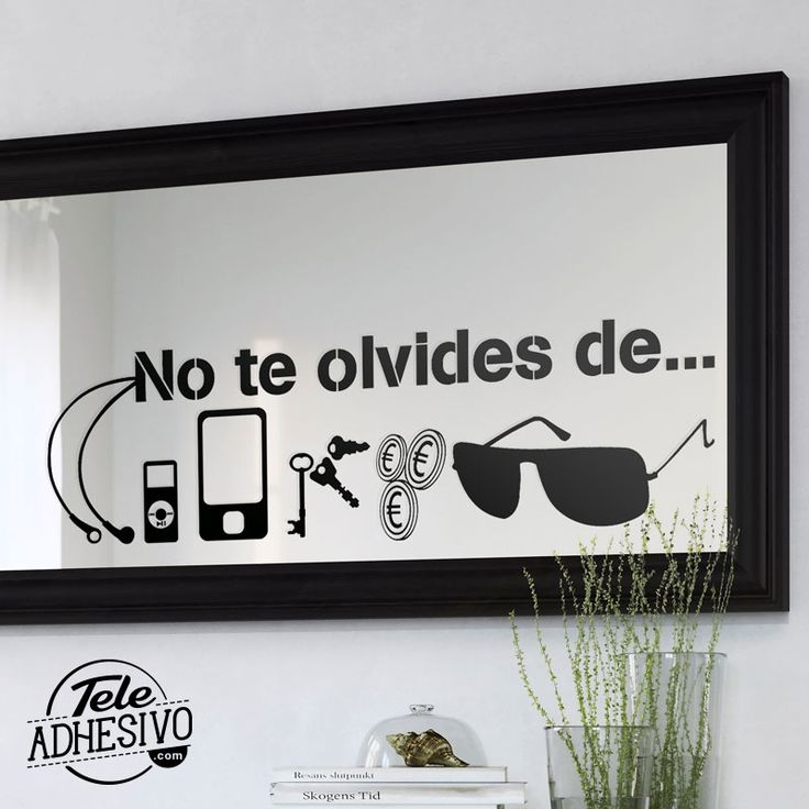 132 best images about top vinilos decorativos on pinterest for Espejos decorativos