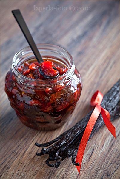 Tomato Jam with vanilla_1