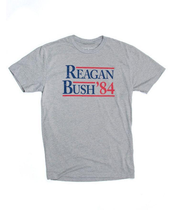 Rowdy Gentleman - Reagan Bush 84 Vintage Tee