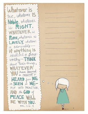 Wise and cute printable. Lots of cuties on her blog!