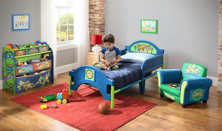 HABITACIÓN TORTUGAS NINJA. (COLCHÓN Y ALMOHADA). HABTN1, BB86628NT, TB84925NT, UP85806NT, IndalChess.com Tienda de juguetes online y juegos de jardin