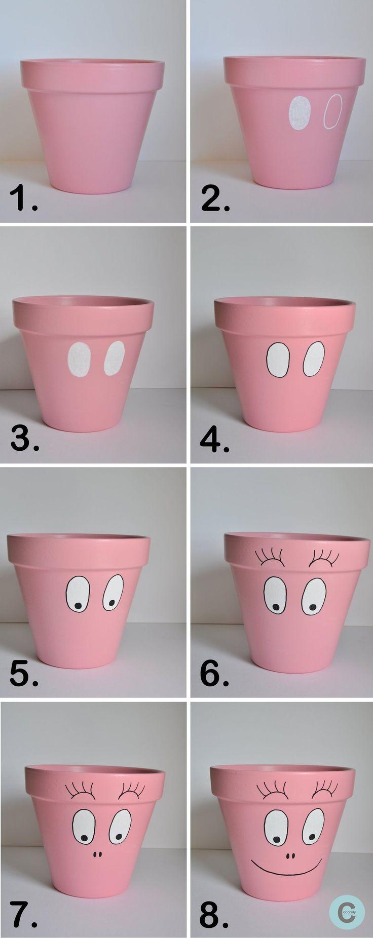 Tuto kids : des pots customisés en personnages - Loisirs créatifs