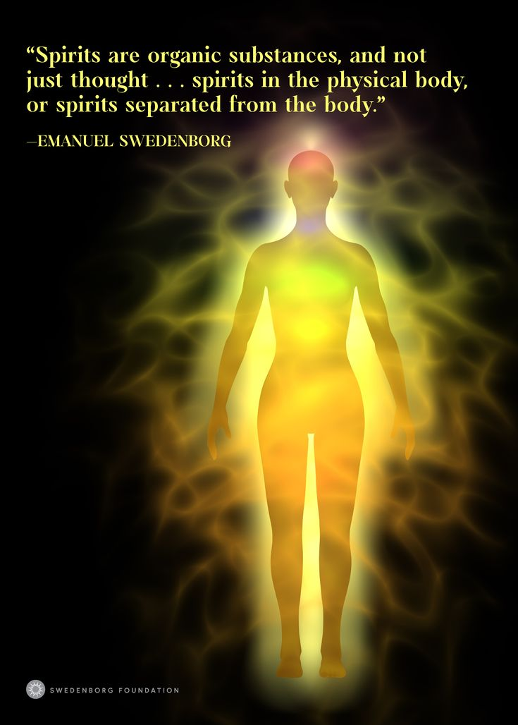 """""""Spirits are organic substances, and not just thought . . . spirits in the [physical] body, or spirits separated from the body."""" —Emanuel Swedenborg, Spiritual Experiences §2392  To learn more about this idea, check out our Swedenborg and Life episode, """"Do Ghosts Exist?"""" here: https://www.youtube.com/watch?v=M85ttx9Hzm0"""
