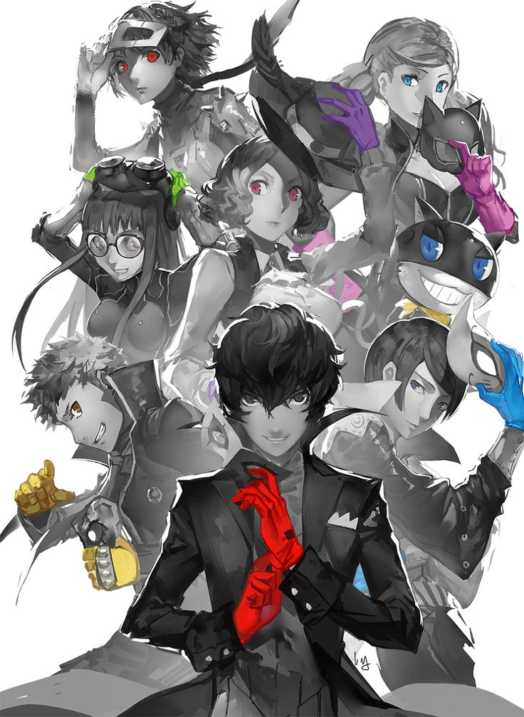Persona 5 - Japanese game sounds interesting