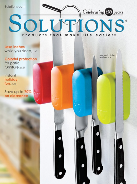 Fall 2012 Solutions Catalog Cover Solutions.com: Cool Website, Cool Gadgets, Knifes Holders, Solutions Com, Awesome Website, Catalog Covers, Website Sooners, Cool Stuff, Life Easier