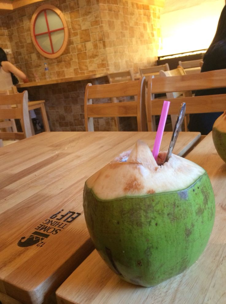 Coconut water. Something ELF? ,Thailand