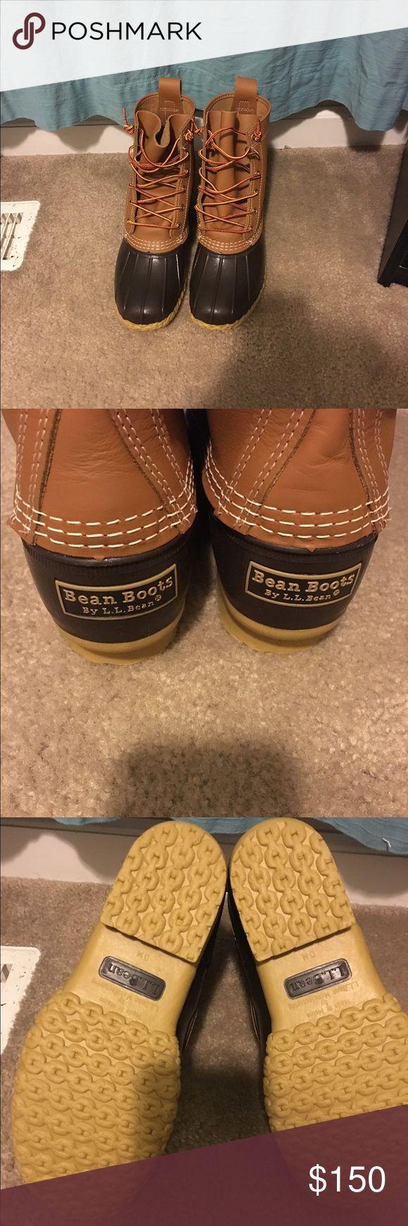 "BRAND NEW Women's Bean Boots by L.L.Bean®, 8"". BRAND NEW Women's Bean Boots by L.L.Bean®, 8"". NEVER BEEN WORN. Brown L.L. Bean Shoes Winter & Rain Boots"