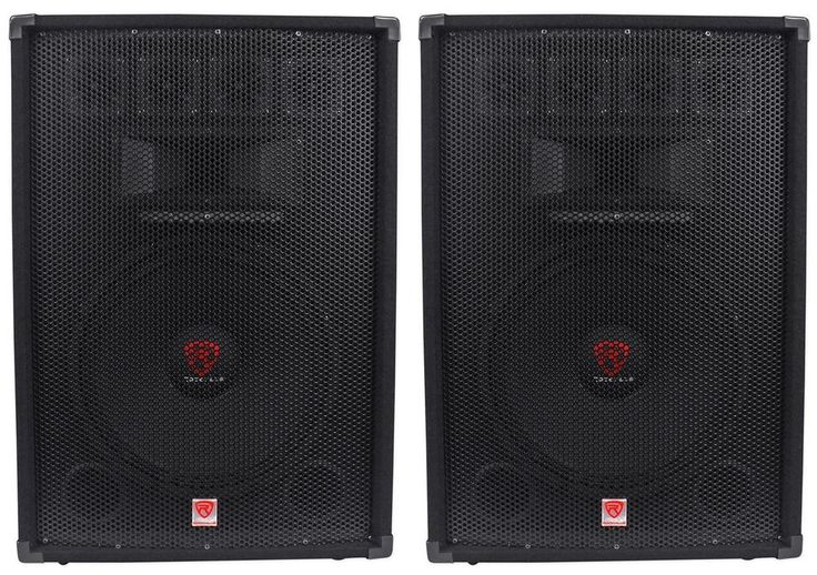 Video of RSG15.4 Item Code: (2) RSG15.4. We are proud to introduce to you the Rockville RSG series of speakers. These are affordable speakers with high-end performance; specially built for DJ's as well as professional audio applications. | eBay!