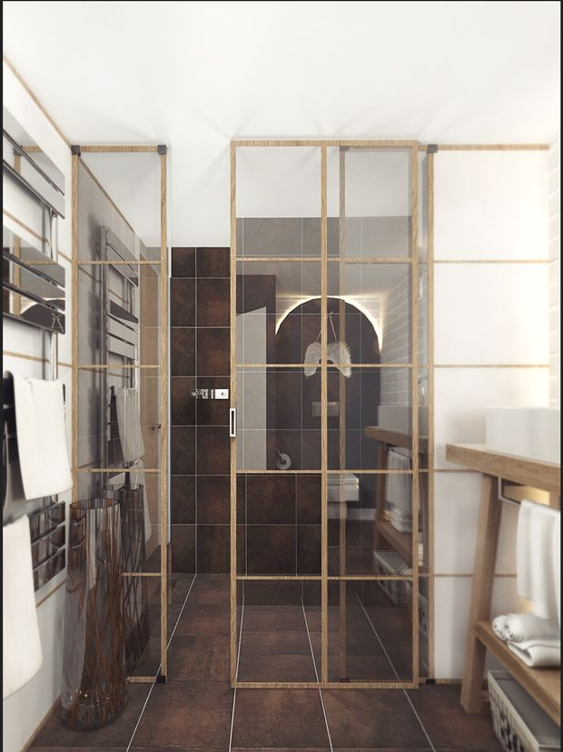 LOFT APARTMENT МОСКВА Дизайн интерьера. Ванная комната