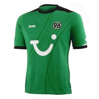Das offizielle Auswärts-Trikot der Spieler von Hannover 96 für die Saison 2012/2013.