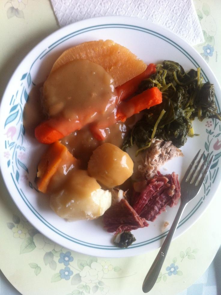 Newfie Jigs Dinner Just Known As Sunday Dinner Not
