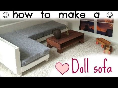 DIY: doll bathroom pt.2 (toilet) - YouTube