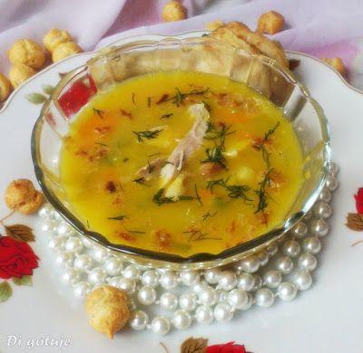 Di gotuje: Zupa z dyni (z kurczakiem)
