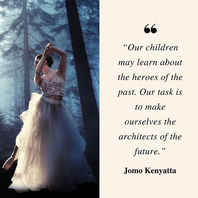"""""""Our children may learn about the heroes of the past. Our task is to make ourselves the architects of the future."""" ― Jomo Kenyatta    @book.lovers.society #booklovers #books #JomoKenyatta  #writing #stayhungry #lifequotes #motivationalquotes #motivational #motivation #vision #mindset #achieve #quoteoftheday #dreambig #hustle #hustlehard #inspire #inspired #inspirationalquotes #inspirational #goals #grind #dreams #success #successful #quotes #daily    Tag your friends."""
