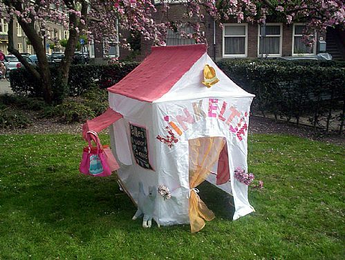 Speeltent Winkeltje van Hanging Houses / Playing tent Shop from Hanging Houses
