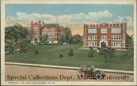 Marshall College, Huntington, WV 1920