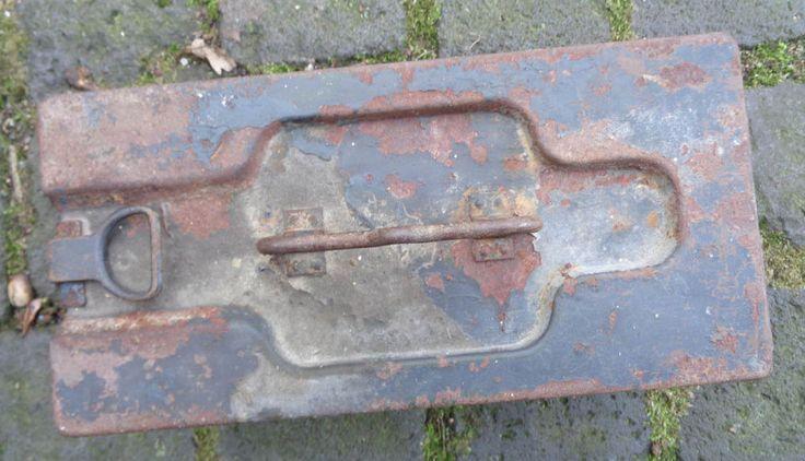 original Kiste für MG 08/15 vermutlich Reichswehr