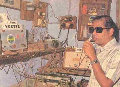 "HAM RADIO: Ham radio clubs become popular in the late 80's. The intersection of socially awkward Indian nerds and older creepy uncles were members of ""ham radio clubs."" They would sit in their rooms for hours and communicate with the Russians."