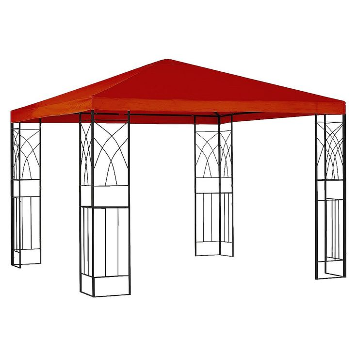 Room Essentials� Tivoli 10x10' Replacement Gazebo Canopy - Red