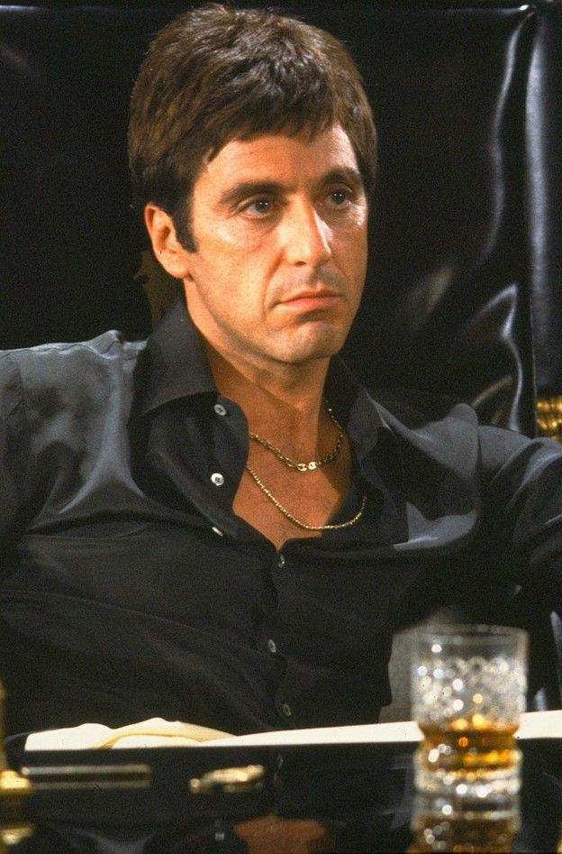 Al Pacino - Scarface (1983) oh MY GOODINESS........SEXINESS AT IT'S PEAK!!! WOOOOOO....