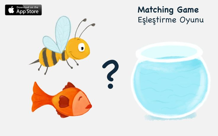 If fish is in a bowl, then where is the bee?  Find matching pictures and have fun... For children 3+ https://itunes.apple.com/us/app/lonitoy-matching-game/id775891195?mt=8&uo=4  Balık fanusun içindeyse, arı nerede? Eşleştirme oyunuyla çocuklarımız hem daha çok kelime öğrenecek, hem de nesneler arasında bağlantı kuracaklar! 3 yaş üzeri çocuklarımız içindir. https://itunes.apple.com/tr/app/lonitoy-matching-game/id775891195?mt=8&uo=4&at=11l8HM