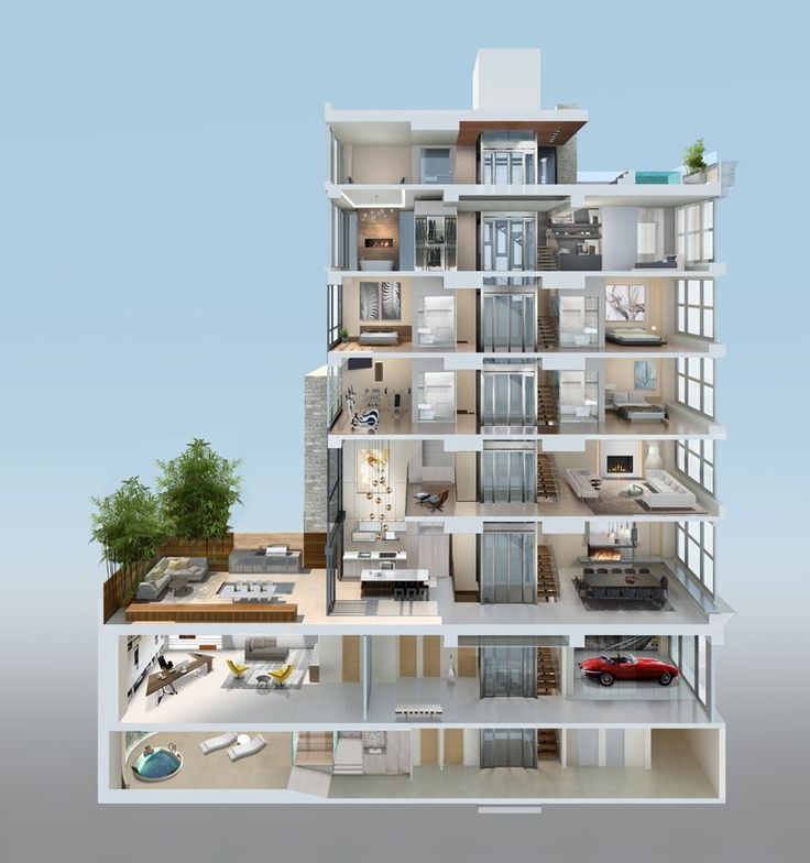 how to build a townhouse complex