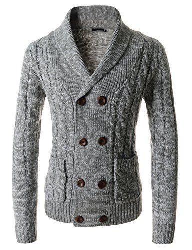 Showblanc (SBTNC05) Fitted Style Knitwear Dressy Casual Shawl Collar Cardigan GRAY Medium(Chest 36) Showblanc http://www.amazon.com/dp/B014R6TYPE/ref=cm_sw_r_pi_dp_4oWlwb1EQV8FB
