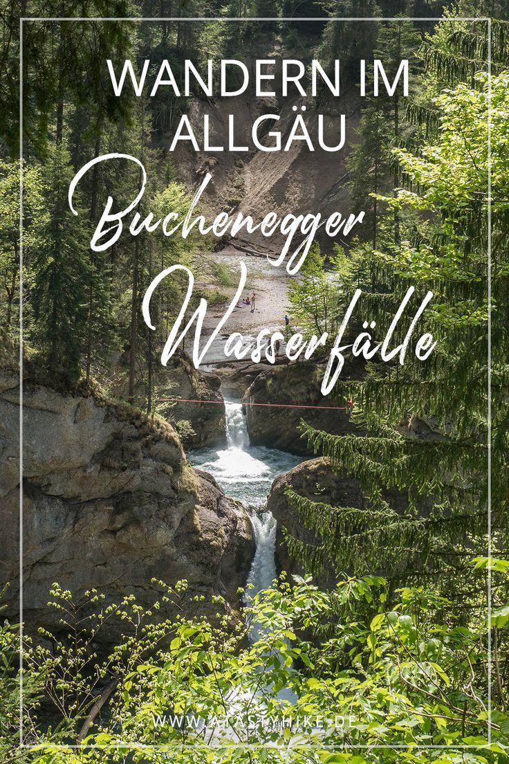 Buchenegger Wasserfälle – Wandern im Allgäu: Tol…