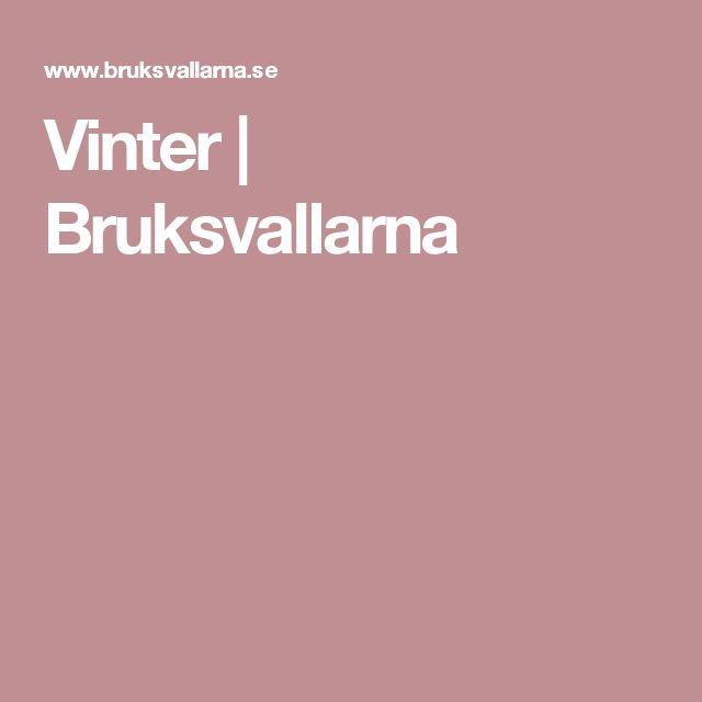Vinter | Bruksvallarna