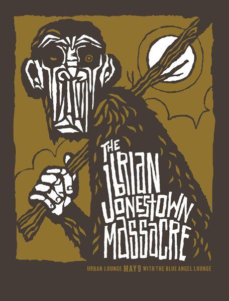 The Brian Jonestown massacre // design by Furturtle Printworks