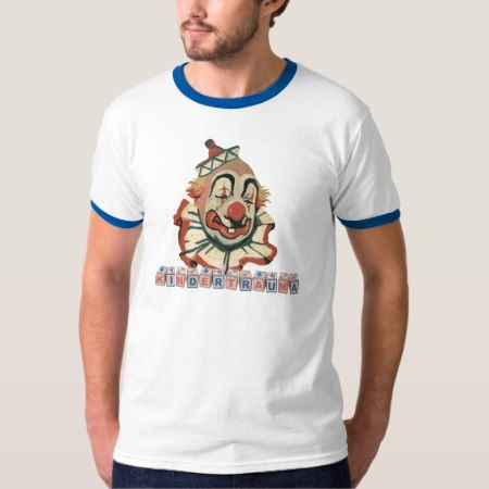 Kindertrauma-Clown T-Shirt - tap to personalize and get yours