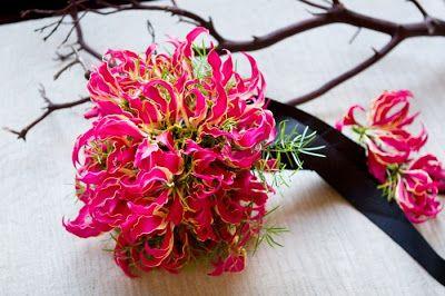 Gloriosa Lily Bouquet