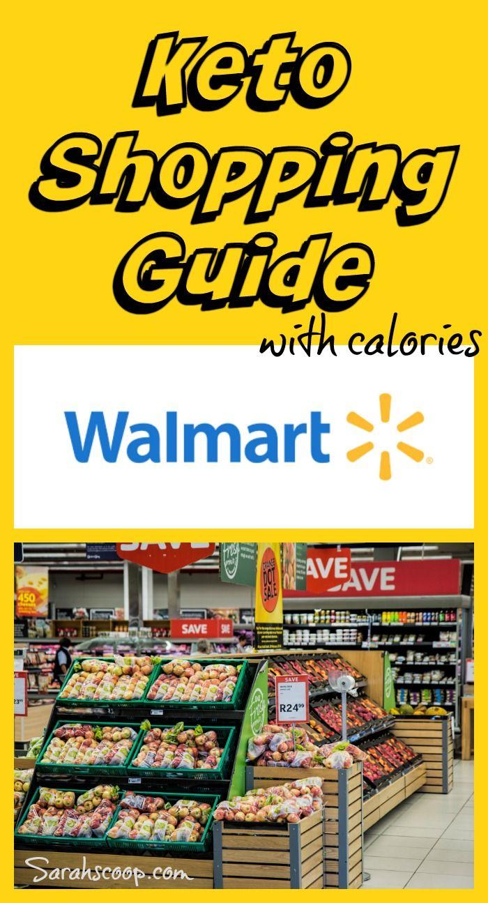 Keto Friendly Walmart Shopping Guide With Calories + Carbs