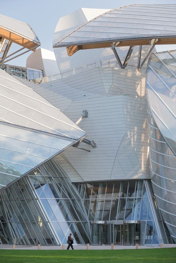 Frank Gehry : Fondation Louis Vuitton http://clementineetchocolat.com/fondation-louis-vuitton/