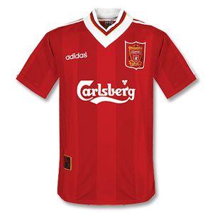 95-96 Liverpool Home Shirt - Grade 8