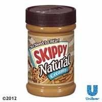 Skippy® Natural Peanut Butter Spread