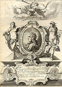 Cover of George Sandys's 1632 edition of Ovid's Metamorphosis Englished