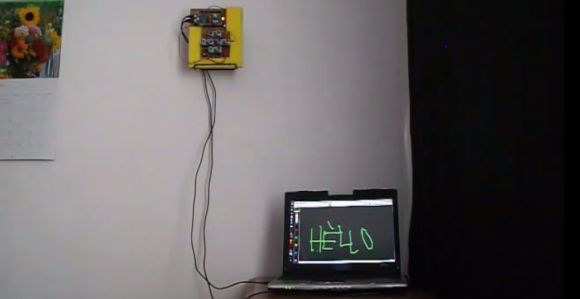 A Virtual Touchscreen (3D Ultrasonic Radar)