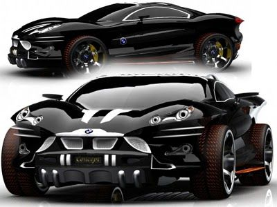 BMW Sport Cars X9 Concept by Khalfi Oussama - Sport Cars And The Concept. http://sportcar5.blogspot.com