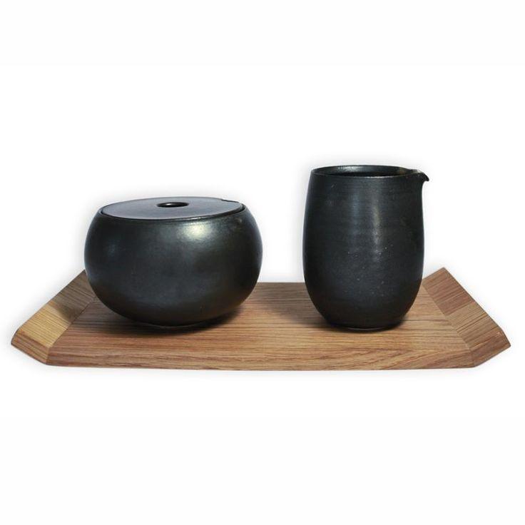 Hochwertigste handgedrehte Keramik aus Deutschland. Süßer Kaffeelöffel mit charmantem Schriftzug. www.4betterdays.com