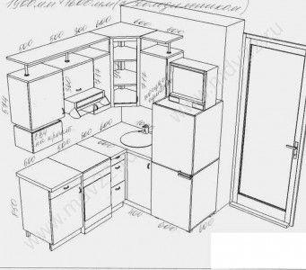 Кухня угловая 190-160 см