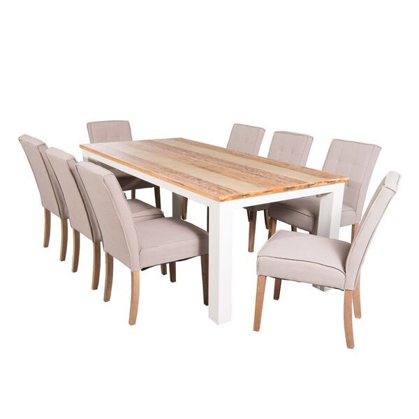 Mokka 8 Seater Dining Table 2 1 8 Naomi Dining Chairs Dining
