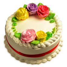 A good gift for girlfriend: Creamy French Vanilla Cake Half Kg