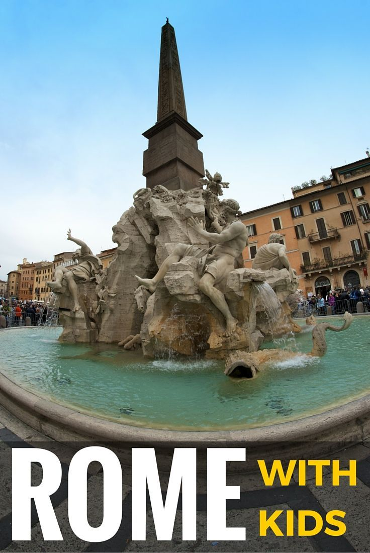 Wondering what there is to do in Rome for kids? Read the guide to all the best things to do in Rome with kids as well as other practical information about Rome to make your family vacation a success!!